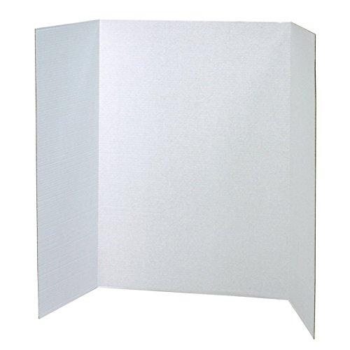 (Pacon PAC3763BN Presentation Board, White, Single Wall, 48