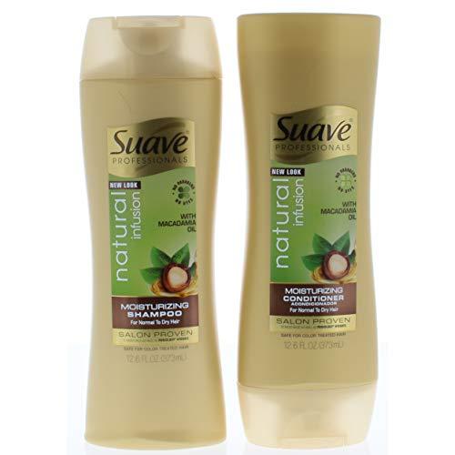 Suave Professionals Shampoo and Conditioner, Natural Infusio