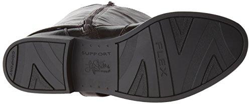 Damen Calf Racey Mode Stride US Mitte Braun Life Stiefel 7 wWAvqBR6