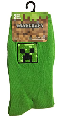Minecraft Crew Cut Socks