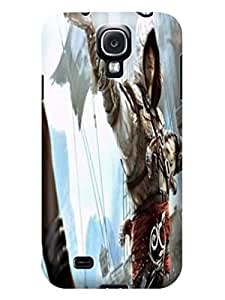 The best selling tpu phone cose cover with illustration for Samsung Galaxy s4 of Assassin's Creed in Fashion E-Mall by mcsharks