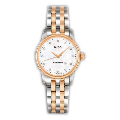 MIDO Baroncelli Ii M76009691 - Reloj de mujer automático, correa de acero inoxidable color varios
