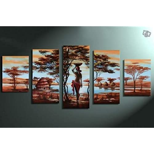 African Canvas Wall Art: Amazon.com