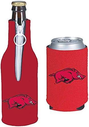 NCAA College Team Color Logo Can /& Bottle Holder Insulator Beverage Cooler Set