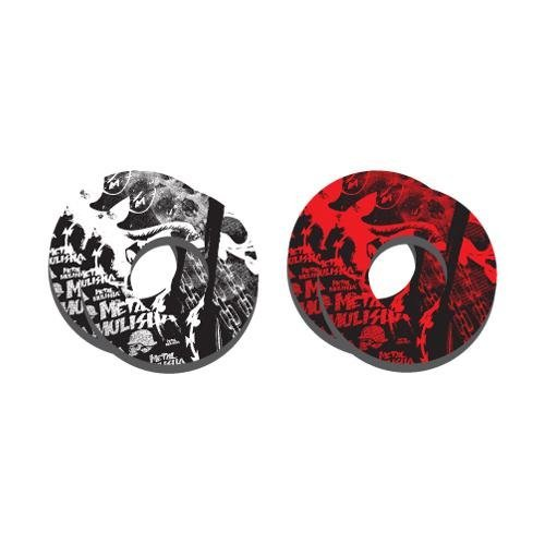 Factory Effex Metal Mulisha Grip Donuts - ()