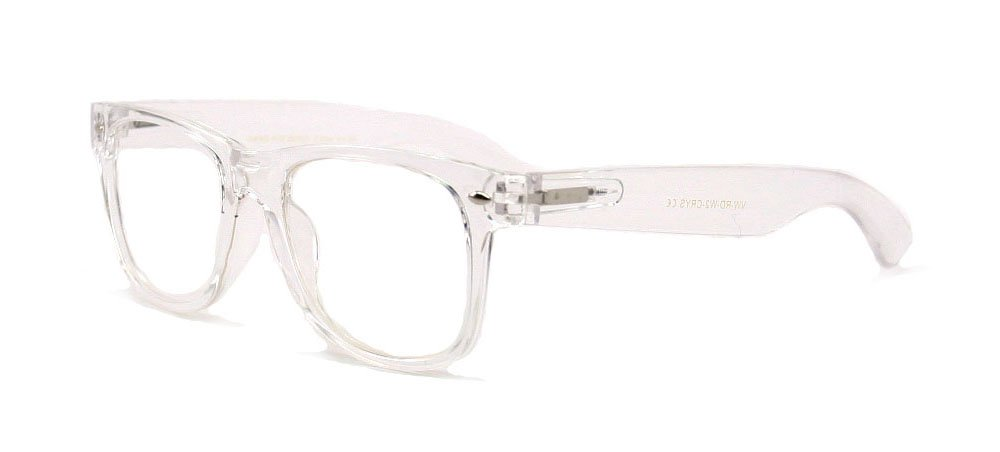 9ea7bb417ab White Clear Reading Glasses - Comfortable Stylish Simple Readers Rx  Magnification product image