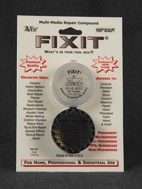 Fixit 1/4 Lb. Epoxy Clay Aluminum