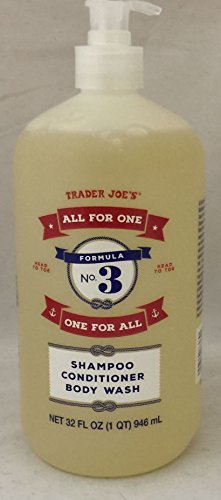 "Trader Joe's Formula No.3 ""All for One, One for All"" Shampoo"