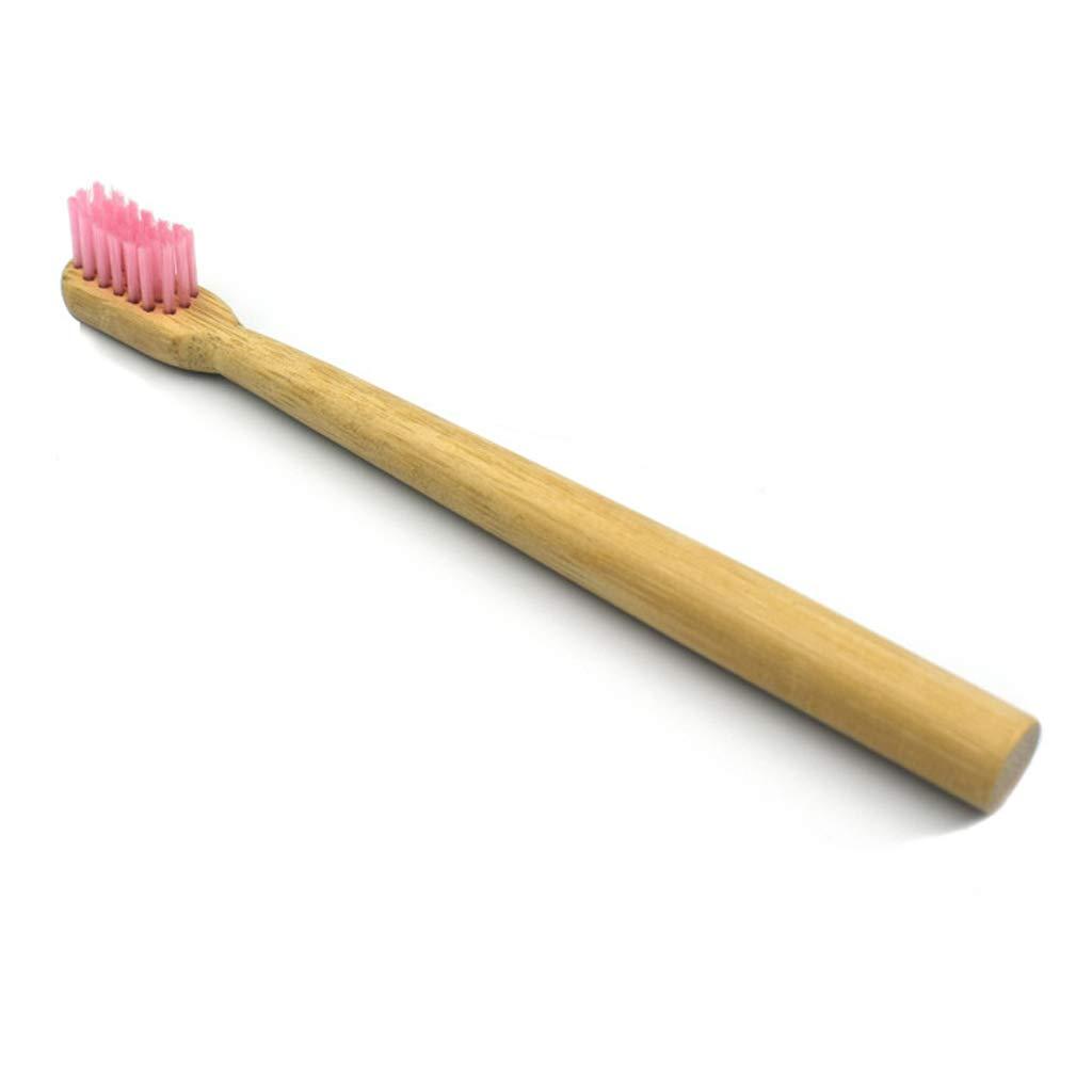 Manyo Brosse /à Dents Enfant Brown Brosse a Dent Ultra Souple en Bambou sans BPA Soins Dentaires Brosses /à Dents B/éb/é