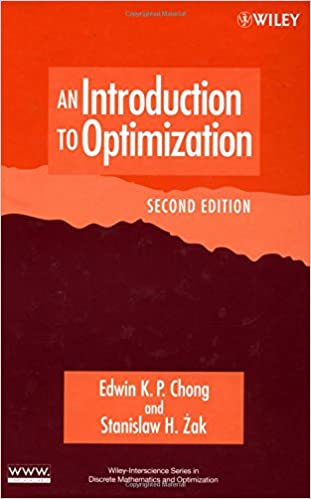 chong an introduction to optimization solution manual