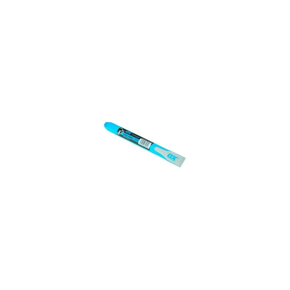 Buey t090112  comercio Cold cincel, azul, 25  x 300  mm 25 x 300 mm OX OX-T090112