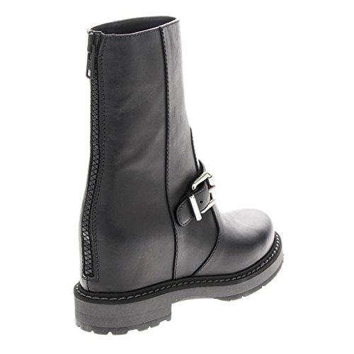 Fendi Skjult-kile Moto Boots