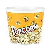 Large 146 oz, Modern Style Reusable Plastic Popcorn
