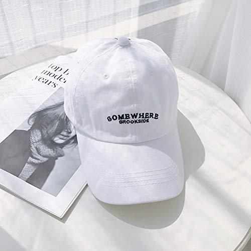 Gorra de béisbol Bordada con Letras pequeñas Simples Gorra de ...
