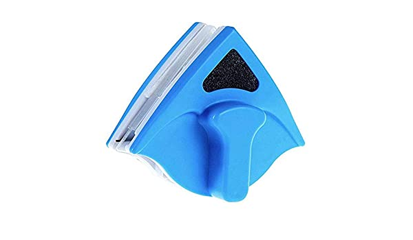 S-t-x Esponja De Almacenamiento De Agua Limpiador De Ventanas Magnético, Material ABS/Tira De Limpiaparabrisas/Diseño De Partición Antipinzamiento Limpiacristales Magnetico De Doble Cara, Tipo Manual: Amazon.es: Hogar
