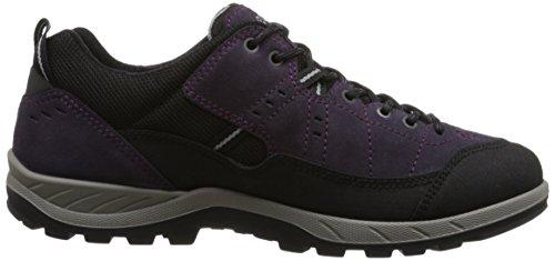 Yura Femme Chaussures Ecco Violett Night Violet de Shade Black Outdoor Ladies Fitness Hanwq1B