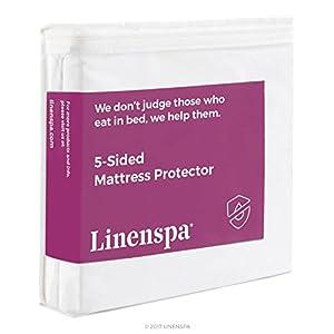 Amazon LINENSPA Five Sided Mattress Protector