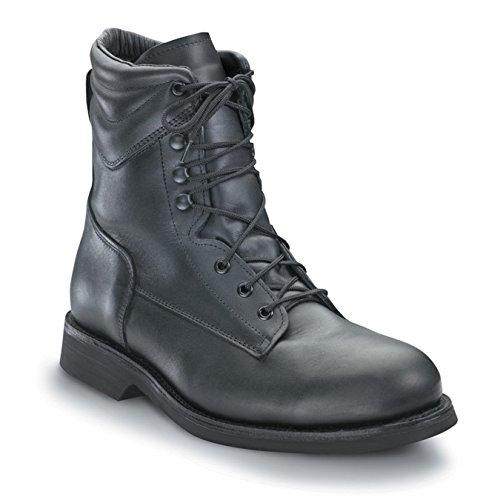 P.W. Minor Hercules – Men's Work Boots Black Steel Toe ST US Size 11 E