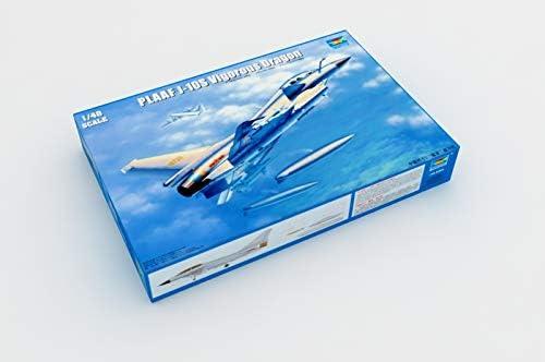 Trombettista 02842 corredo di Modello PLAAF J-10S vigorosa Drago