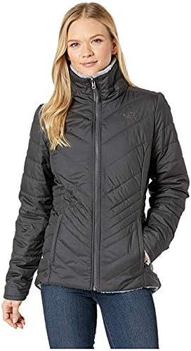 [THE NORTH FACE(ザノースフェイス)] レディースウェア・ジャケット等 Mossbud Insulated Reversible Jacket Asphalt Grey/Mid Grey XS [並行輸入品]