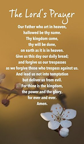 Prayer Card - The Lord's Prayer: Amazon.co.uk: Office Products