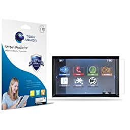 MyLink 8-inch Screen Protector, Tech Armor Anti-Glare/Anti-Fingerprint Chevy MyLink 8-inch Screen Protectors [3-Pack]
