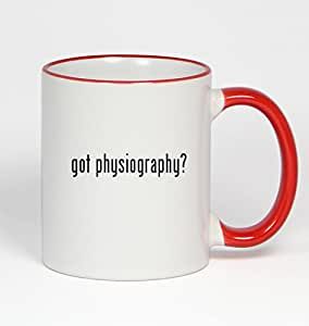 got physiography? - 11oz Red Handle Coffee Mug