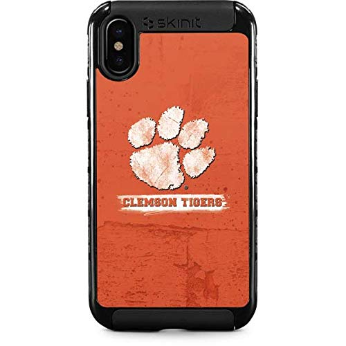 Clemson University iPhone Xs Max Case - Collegiate Licensing Co | Skinit Cargo Case - Durable Double Layer iPhone Xs Max Cover