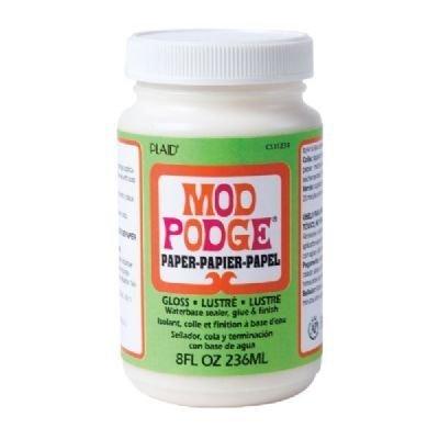 Mod Podge 8 Oz Gloss (3 Pack Paper/Acid-Free Gloss 8 oz. (Product Catalog: Adhesives, Fasteners & Finishing Sprays))
