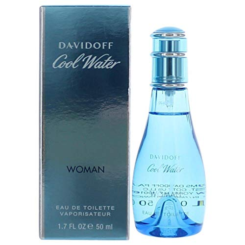 (Cool Water Perfume by Dávidôff EDT Spray for women 1.7 OZ. 50 ML)