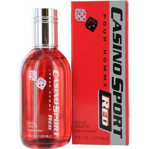 CASINO SPORT RED by Casino Parfums EDT SPRAY 4 OZ ()