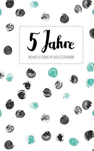 Tagebuch - 5 Jahre: Ringbuch, 192 Seiten, cremeweiß liniert