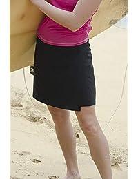 Abrigo atlético de envoltura rápida que realiza múltiples tareas como la falda perfecta para viajes verano