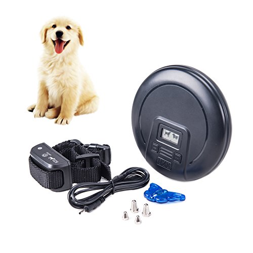 CO-Z Electronic Pet Dog Training Trainer Collar w/Remote Rechargeable Waterproof & Harmless Wireless