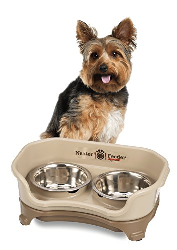 Neater Feeder Express (Small Dog) - With Stainless Steel Dog Bowls and Mess Proof Pet Feeder by Neater Feeder (Image #1)