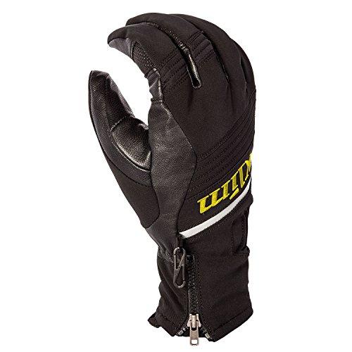 Adventure Gloves (Klim Powerxross Men's Snowmobile Gloves - Medium / Black)