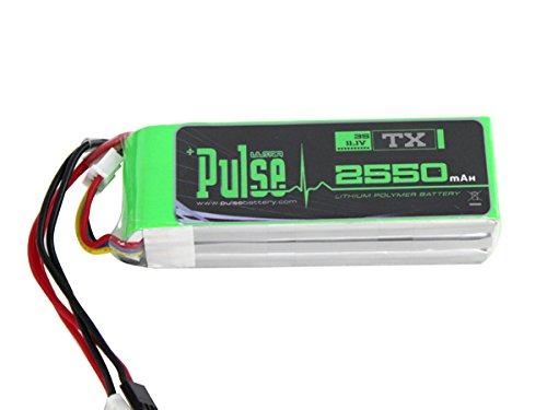 PULSE 2550mAh 3S 11.1V - Transmitter Battery - LiPo Battery (Transmitter Battery)