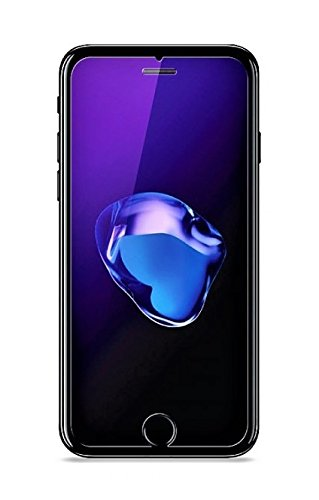 best sneakers 379d8 4f4c9 Plus Anti Blue Ray Tempered Glass Screen Protector Blue Light Resistant  Eyes Protect Film For Apple iPhone 8+ - Transparent