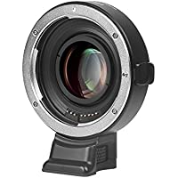 Viltrox EF-E II Lens Mount AF Auto Focus Reducer Speed Booster Adapter for Canon EF Lens to Sony E-mount Camera