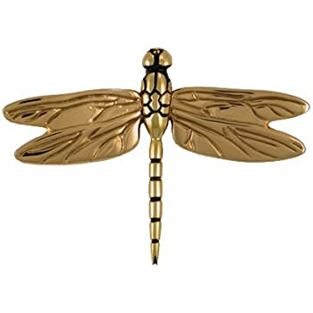 Dragonfly In Flight Door Knocker   Brass/Bronze (Premium Size)