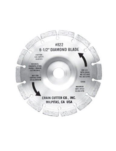 Crain Cutter 822 6-1/2-Inch Segmented Diamond Saw Blade f...