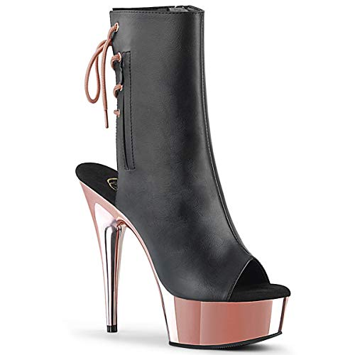 affordable Pleaser Women's Delight-1018 Ankle-High Boot