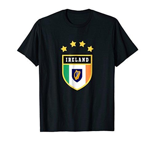 - Ireland T-shirt Coat of arms Tee Flag souvenir Gift Dublin