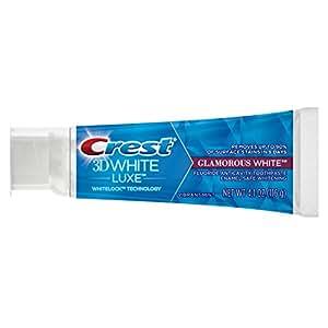 Crest 3D White Luxe Glamorous White Teeth Whitening Vibrant Mint Toothpaste, 4.1 Oz