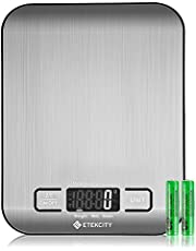 Etekcity Food Digital Kitchen Weight Scale EK6015 Backlit Stainless Steel(2019 Upgraded)