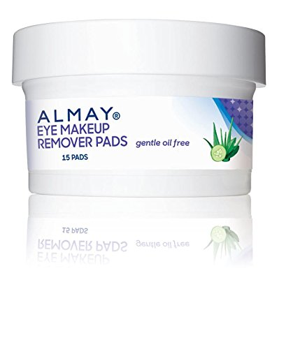 Almay Oil-Free Eye Makeup Remover Pads, 15 Count