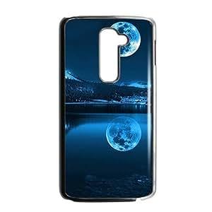 Night moon river sceney lovely phone case for LG G2