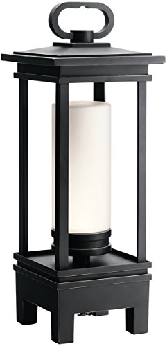 Kichler 49473RZLED South Hope Portable Bluetooth Lantern, 1 Light LED 7 Watts, Rubbed ()
