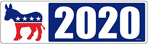 Democrat Magnet - HumperBumper.com Car Magnet for Cars, Trucks - Democrats 2020 - Election - Professionally Printed | Made in USA - 3