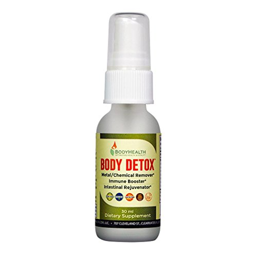 Body Detox Oral Spray. Homeopathically formulated, Boosted with glutathione, Powerful antioxidants, Advanced glycoprotein nanoparticles